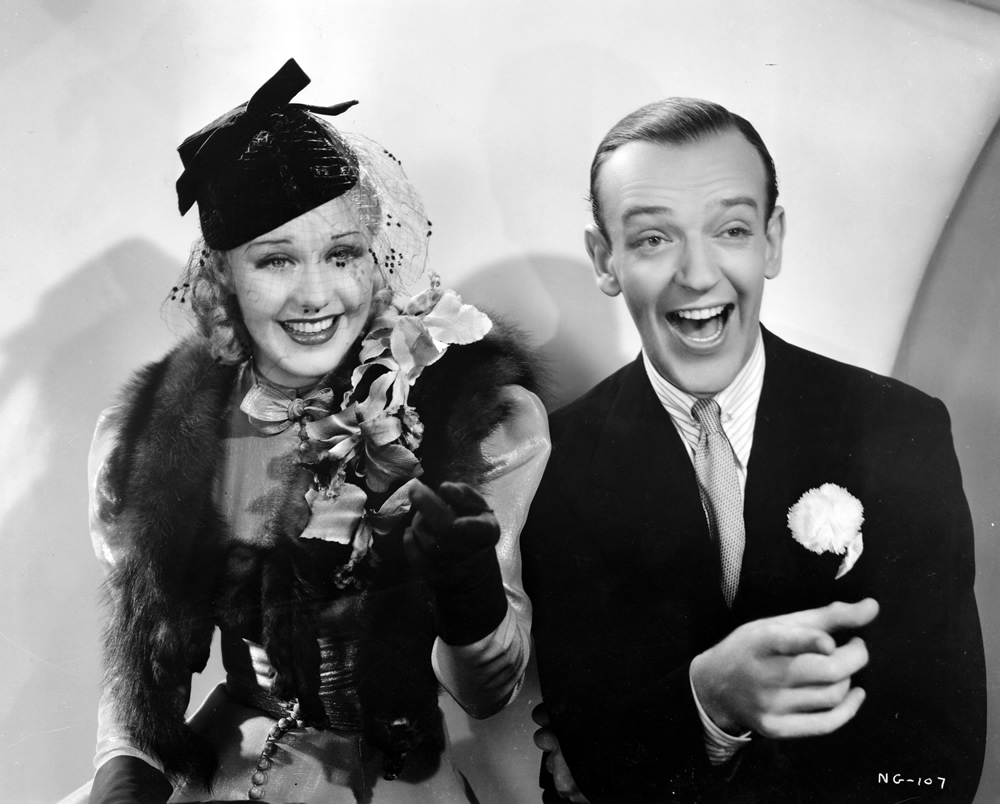 Astaire Gave Her Class Rogers Gave Him Sex Appeal They Gave Us Some Of The Best Movies Ever Imho The Girl Who Knew Too Much
